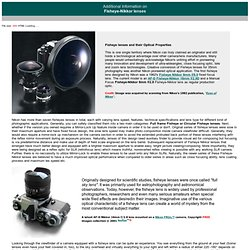Fisheye-Nikkor lenses - Main Index Page