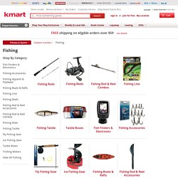 Fishing: Find Fishing Equipment for a Great Value at Kmart