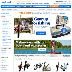 Fishing Gear, Equipment, and Rods
