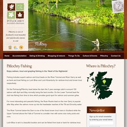 Fishing in Pitlochry