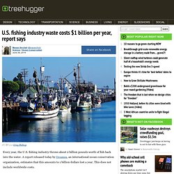 U.S. fishing industry waste costs $1 billion per year, report says