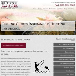 What Are Basic Need For Hunting And Fishing Guides