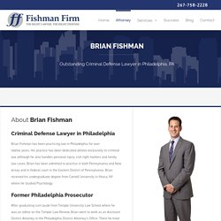 Philadelphia Criminal Defense Attorney - Brian Fishman