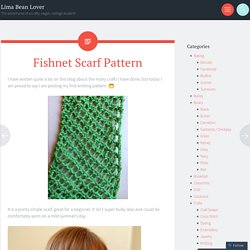 Fishnet Scarf Pattern