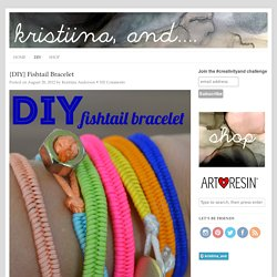 {DIY} Fishtail Bracelet - Typical House Cat