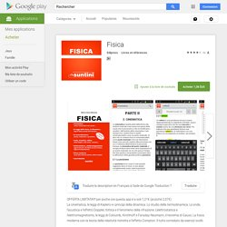 Fisica – Applications Android sur Google Play