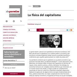 La física del capitalismo - Erald Kolasi
