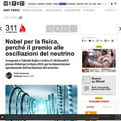 Nobel per la fisica, perché il premio alle oscillazioni del neutrino