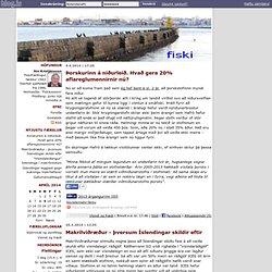 fiski - fiski.blog.is