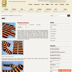 Fitinline.com : Membuat Leg Warmer