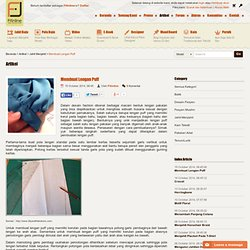 Fitinline.com : Membuat Lengan Puff