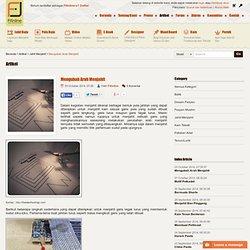 Fitinline.com : Mengubah Arah Menjahit