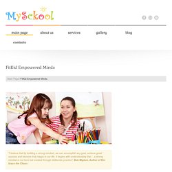 FitKid Empowered Minds