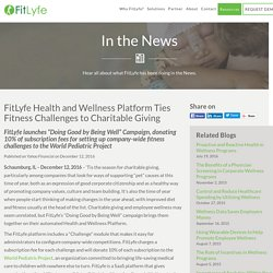 FitLyfe Platform Ties Fitness Challenges to Charity