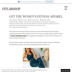 Get the Women's Fitness Apparel – fitlabshop