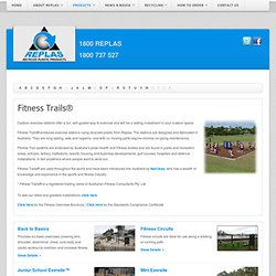Fitness Trails are Australia's leading outdoor fitness system