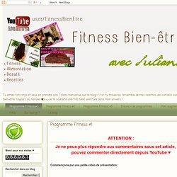 Programme Fitness #1