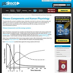 Fitness Components and Human Physiology — PT Direct