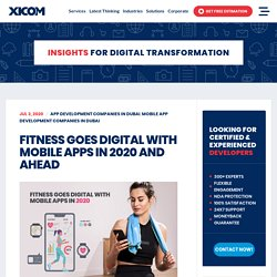 Fitness Goes Digital With Mobile Apps In 2020 And Ahead