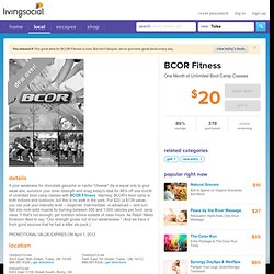 The Best Daily Deals in Tulsa - BCOR - 86% off Boot Camp Classes