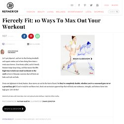 Summer Fitness Exercises - Best Workouts 2013