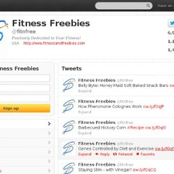 Fitness Freebies (fitnfree) on Twitter