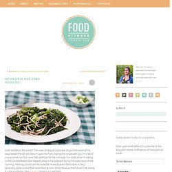 Asian Kale and Soba Noodles « Food-Fitness-FreshAir
