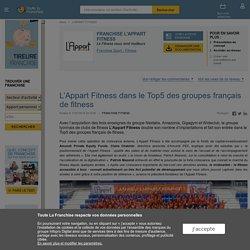 L'Appart Fitness dans le Top5 des groupes français de fitness