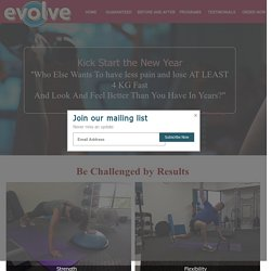 ONE PAGE CAMPAIGN : Evolve Health and Fitness PT Coolum Beach