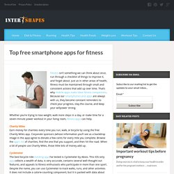 Free Fitness Apps For Smartphone