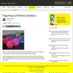 UK fitness and gym statistics 2014 from Kantar Media TGI Clickstream study