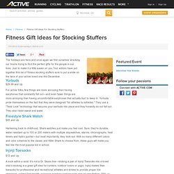 Fitness Gift Ideas for Stocking Stuffers