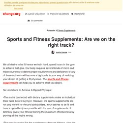 Sports and Fitness Supplements online in India