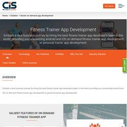 Fitness Trainer App Development