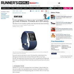 3 Cool Fitness Trends at CES 2015