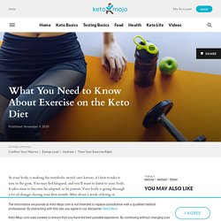 Fitness: Working Out on a Keto Diet