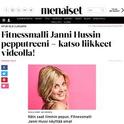 Fitnessmalli Janni Hussin pepputreeni – katso liikkeet videolla!