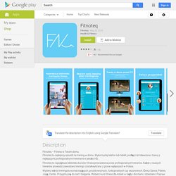 Fitnoteq – Applications Android sur Google Play