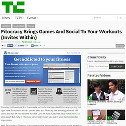 Fitocracy Brings Games And Social To Your Workouts (Invites Within)
