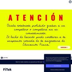 FiTok by evazdia514 on Genially