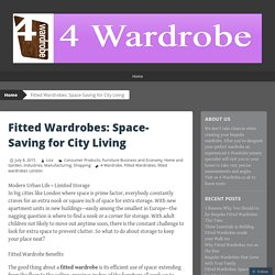 Fitted Wardrobes: Space-Saving for City Living
