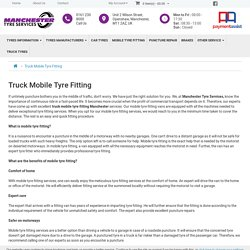 Truck Mobile Tyre Fitting Manchester