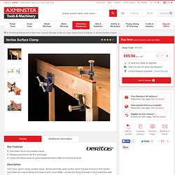 Buy Veritas Surface Clamp from Axminster, fast delivery for the UK