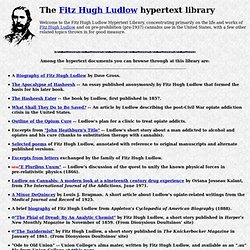 The Fitz Hugh Ludlow Hypertext Collection