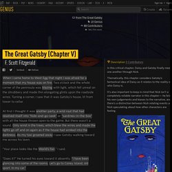 F-scott-fitzgerald-the-great-gatsby-chapter-v-annotated