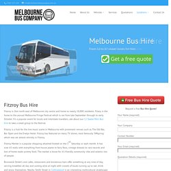 Fitzroy Bus Hire - Melbourne Bus Company