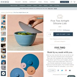 Five Two Airtight Silicone Lids from Food52, Set of 5 on Food52