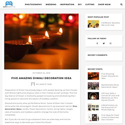 Five Amazing Diwali Decoration Idea