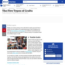 Types of Crafts