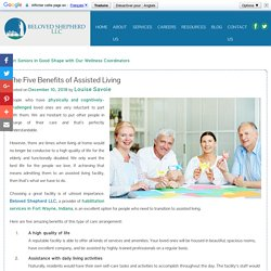 The Five Benefits of Assisted Living